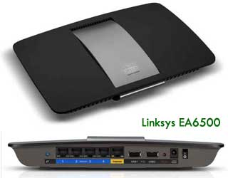 Linksys EA6500 smart wifi router
