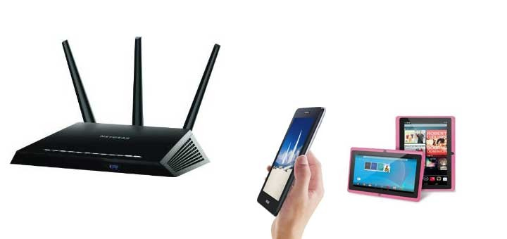 wireless routers for android