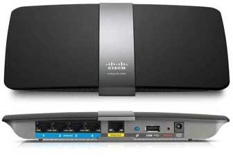 Linksys EA 4500 N900 router