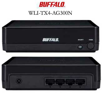 Buffalo wireless dual band gaming adapter