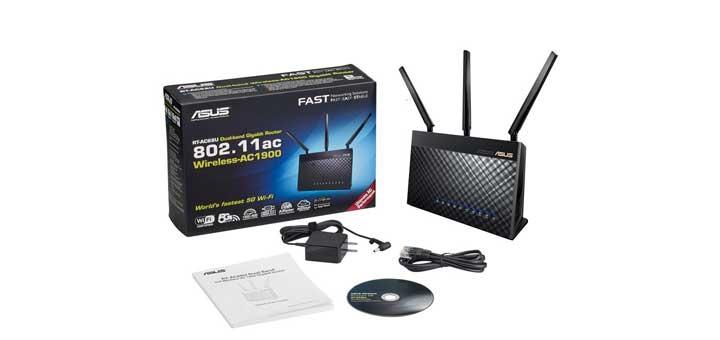 Asus DSL-AC68U modem gateway