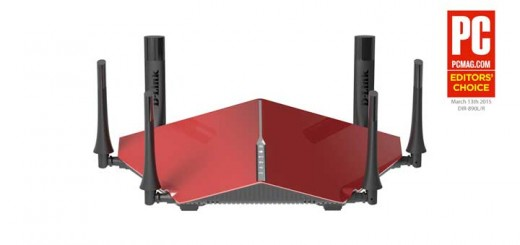 Dlink 890L wireless ac3200 router