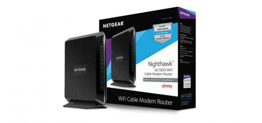 Nighthawk C7000 cable modem wireless