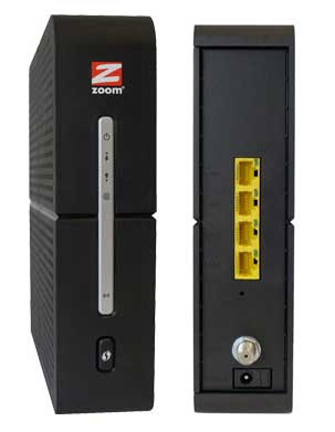 Zoom 5363 cable modem router combo