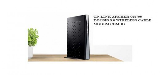 TP-link wireless cable modem router CR700