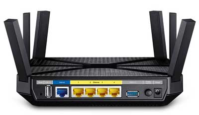 TP-link AC3200 three band router