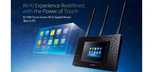 TP-link touchscreen router P5