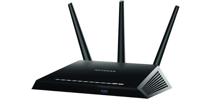 Netgear R6700 AC1750 high power router