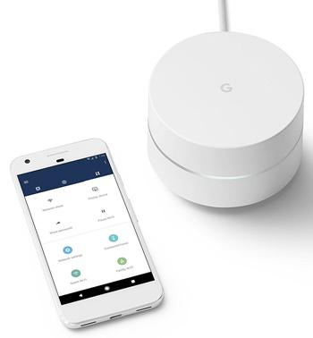 google mesh wifi system