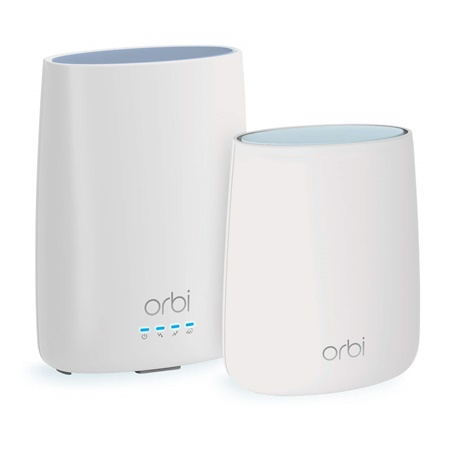 Orbi mesh wifi with built-in Cable modem