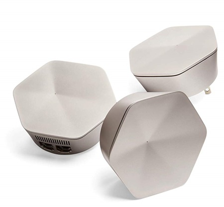 Plume Superpod AC3000 three band mesh wifi system