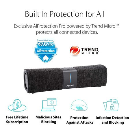 Asus lyra voice with built-in protection