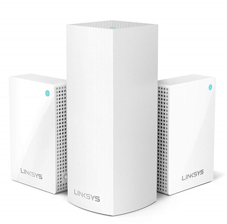 Linksys Velop AC2200 with 2 wall plug