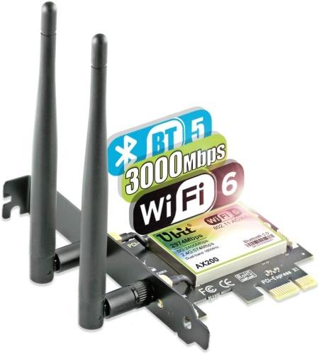 Ubit AX200 wireless ax3000 adapter